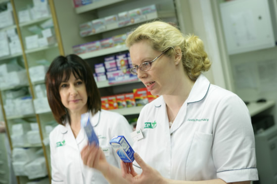 The Fields Pharmacy team